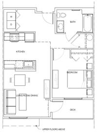 1B (accessible): 1 Bedroom, 1 Bath