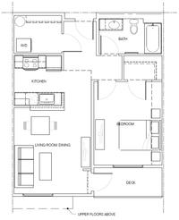 1B: 1 Bedroom, 1 Bath