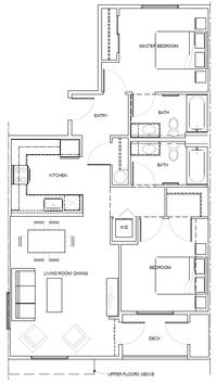 2F: 2 Bedroom, 2 Bath